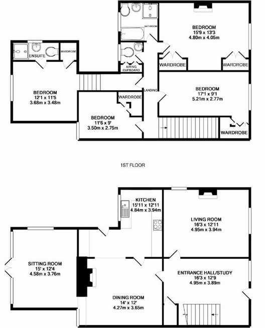 Barndominium Floor Plans 4 Bed, 2 Bath