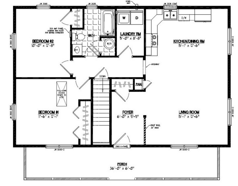 Brandominium Floor Plan
