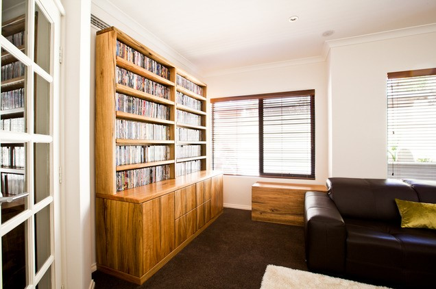 DVD Shelving Areas