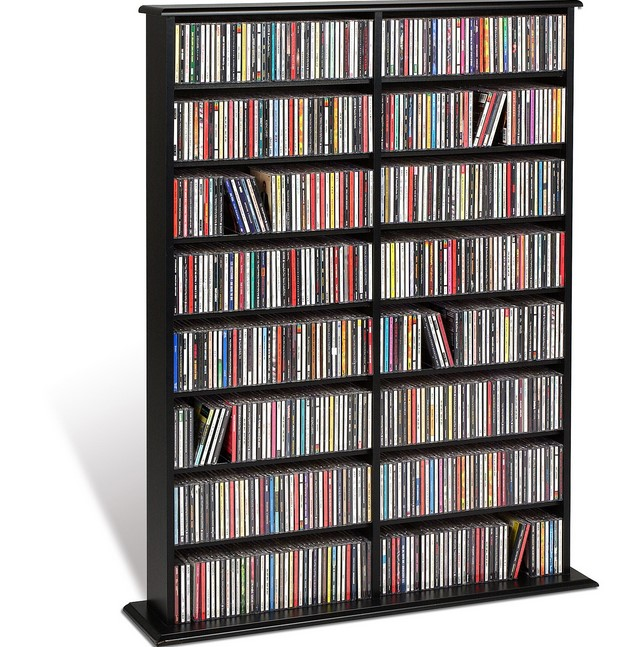 DVD Storage Shelves