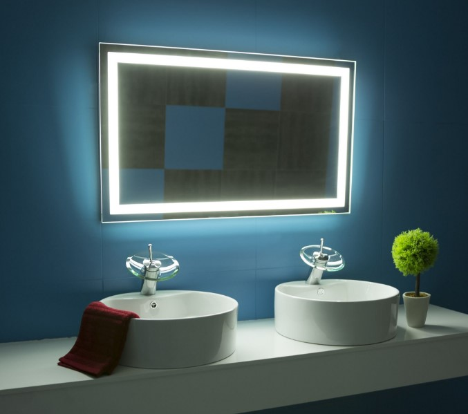 LED Mirror: Design and Functionality in the Bathroom
