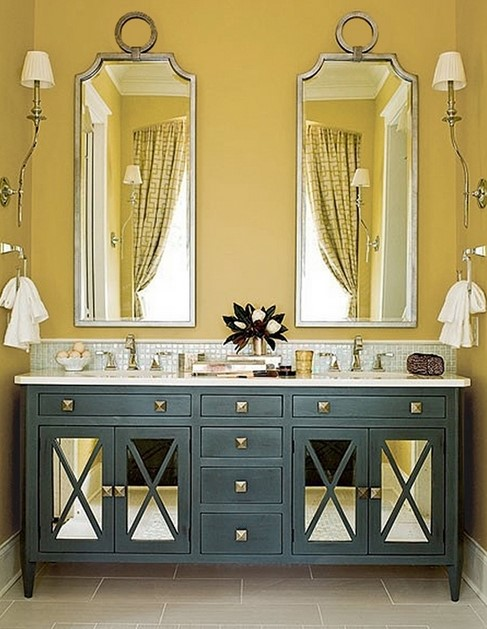 Simply Bathroom Mirror Ideas
