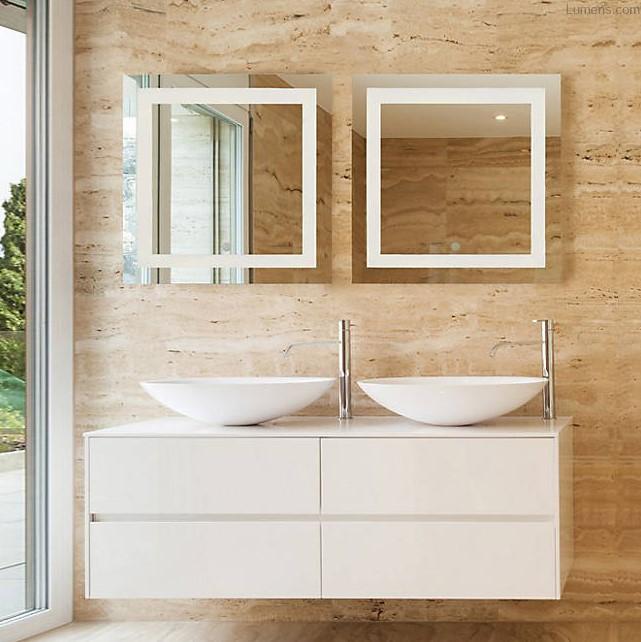 Spa LED Square Bathroom Mirror
