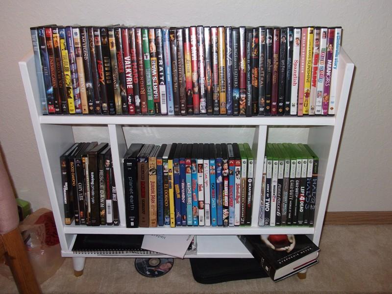 Storage DVD Shelves