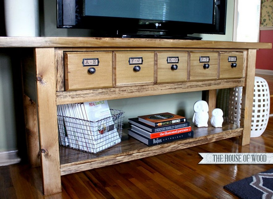 TV Stand Ideas Classic Copycat