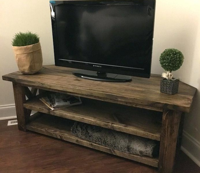 TV Stand Ideas Corner Media Center