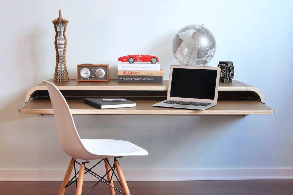 Wall-mounted Modern Computer Desk