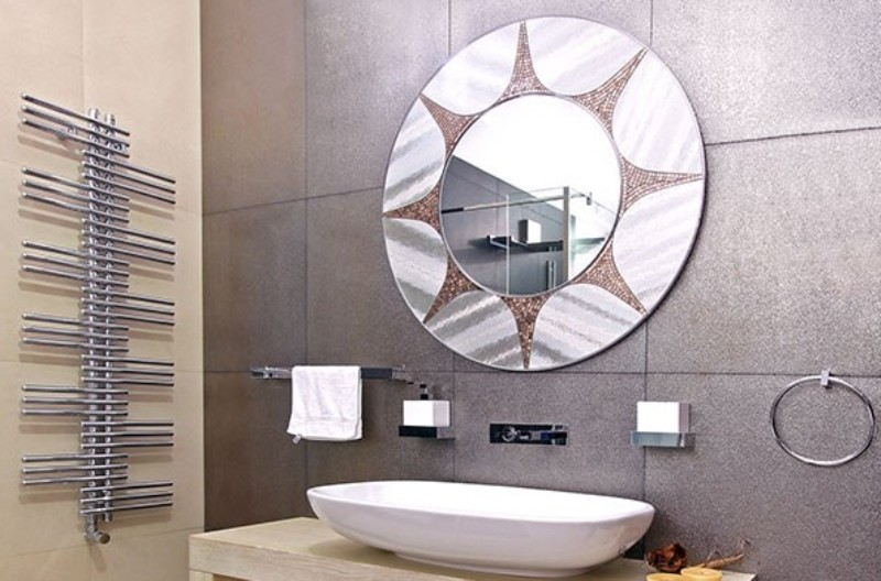 bathroom mirror ideas diy for small bathroom - Bathroom Mirror Ideas