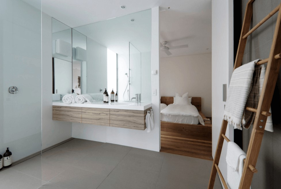 big simple bathroom mirror ideas