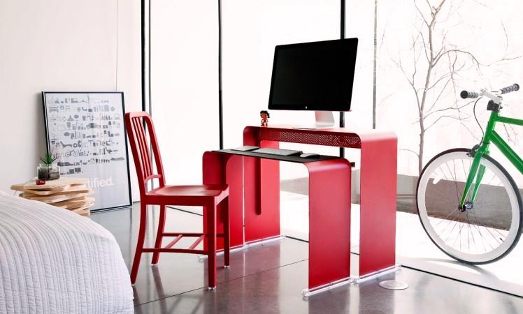 Computer Desk Was Designed By Dean Heckler