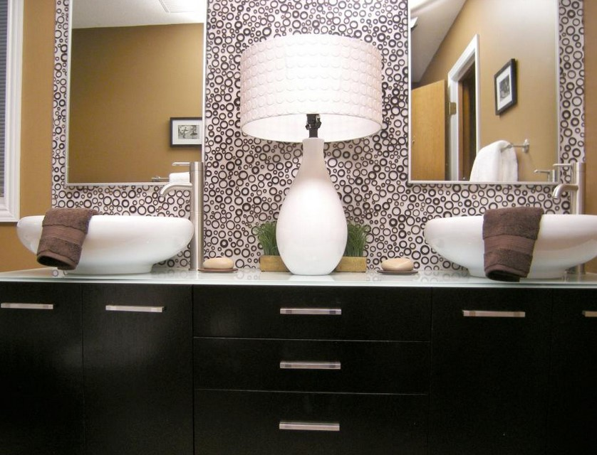 interesting bathroom mirror ideas