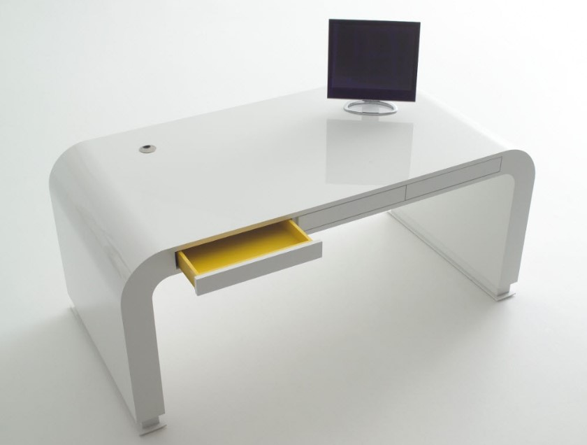 modern simple computer desk