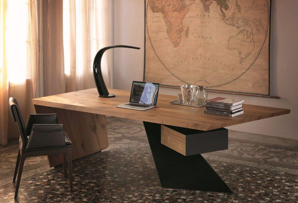 Wooden Modern Computer Desk