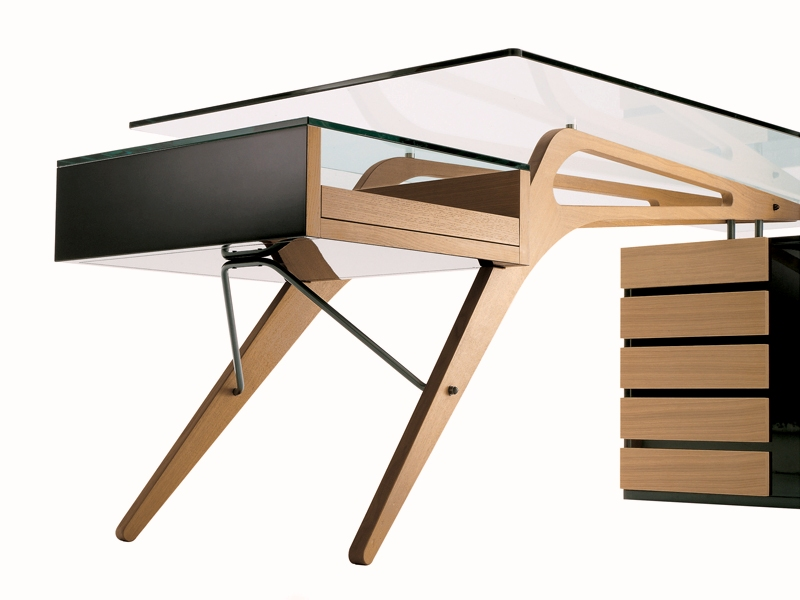 Writing Desk With Drawers