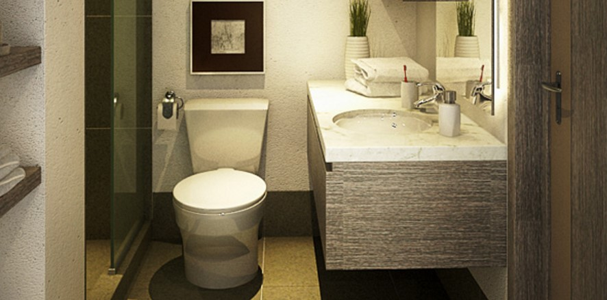 Basement Bathroom Design for the Comfort
