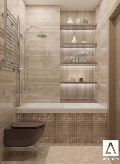 Basement Day Spa Bathroom
