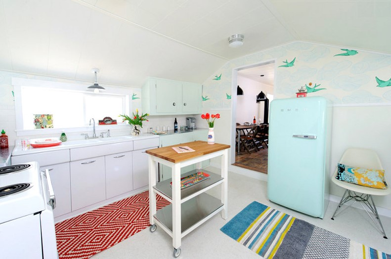 Best Type Of Area Rug For Kitchen