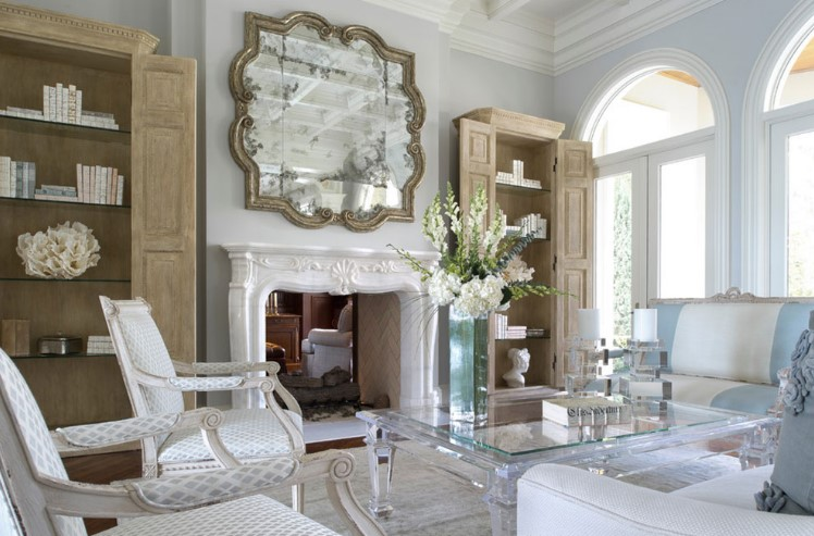 Bold surroundings for your fireplace