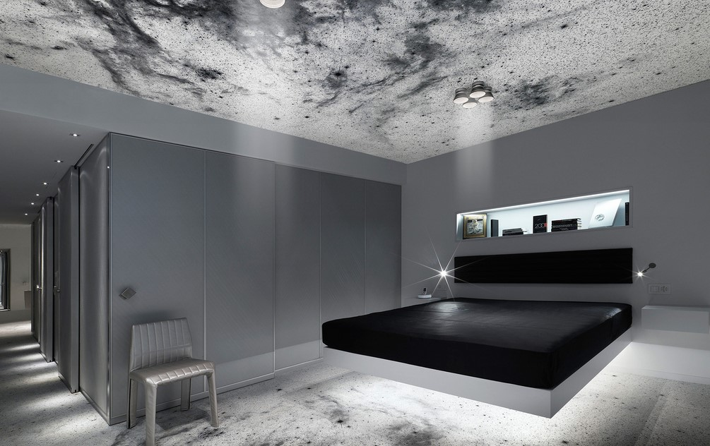 Bright Space Themed Room