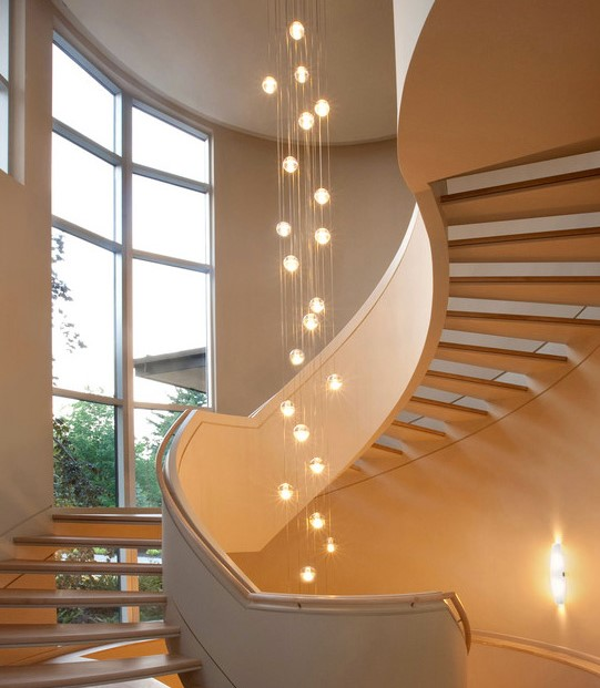 15 Residential Staircase Design Ideas: 15+ Stairway Lighting Ideas For Modern And Contemporary