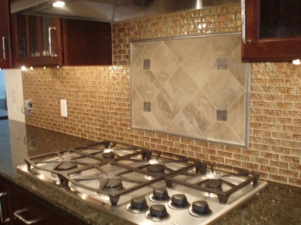 cherry cabinets backsplash ideas kitchen cherry kitchen cabinets with gray wall and quartz 235