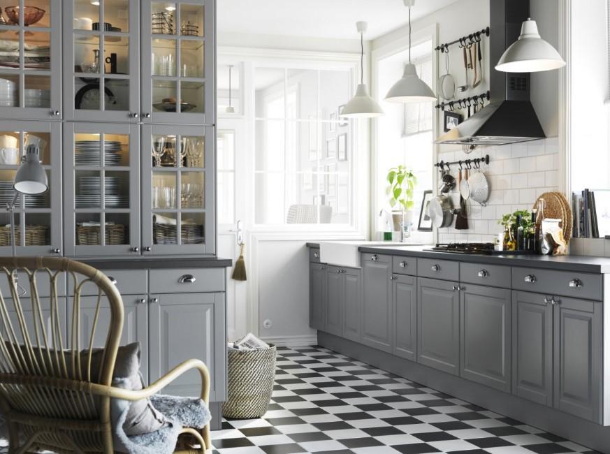Chessboard Style Kitchen