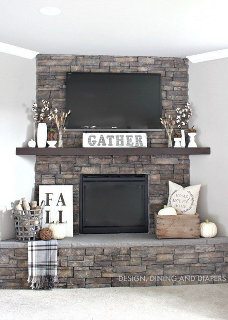 Corner Fireplace Mantel