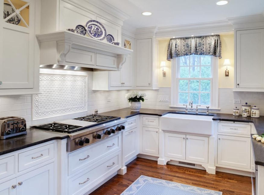 Cottage Style Kitchen Rugs