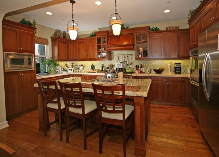 Country Style Cherry Kitchen