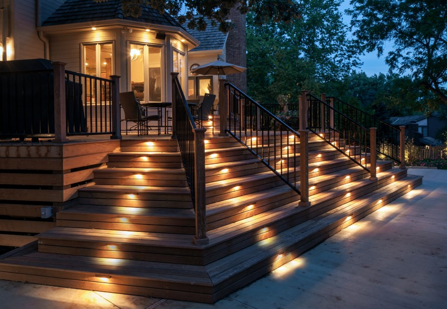Decking & Pathway Stair Lights