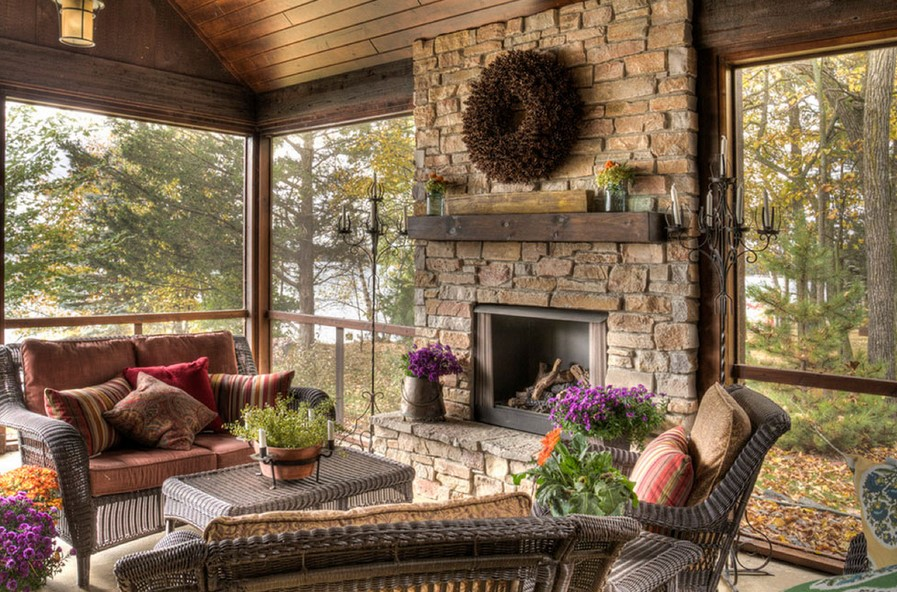 Electricity-powered Fireplaces