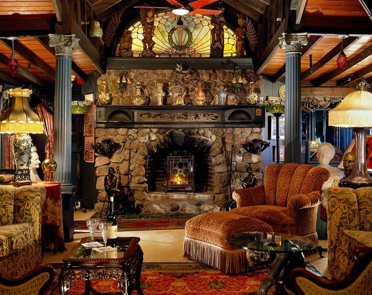 Fireplace As Room Separators