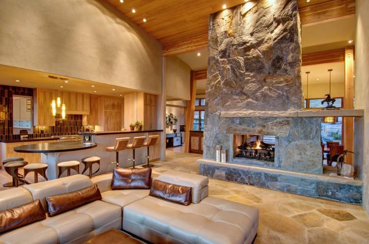 Focal fireplaces