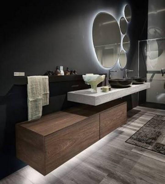 Italian Cellar basement bathroom