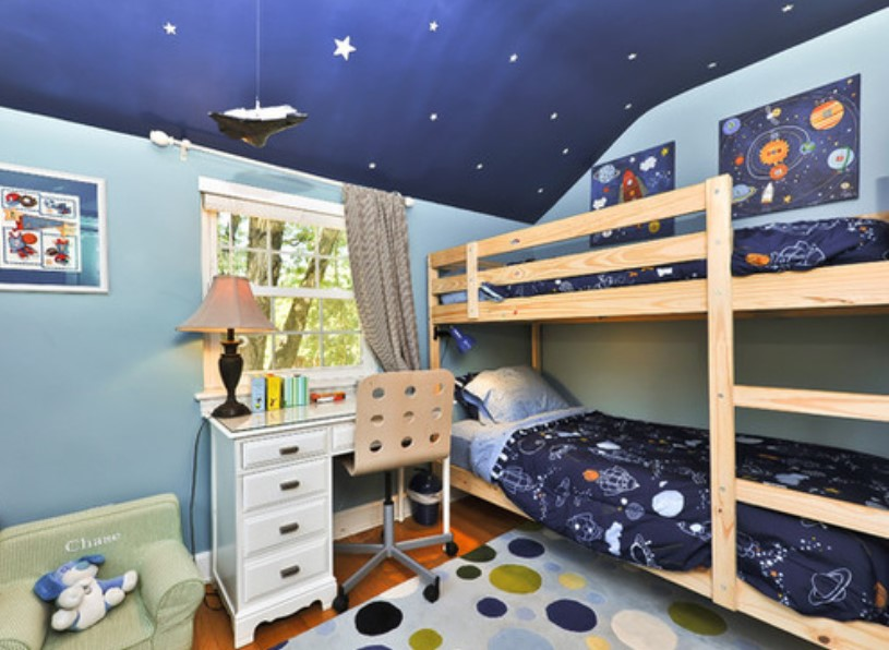 Lovely Space Themed RoomLovely Space Themed Room