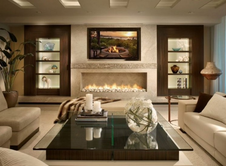 33+ Modern and Traditional Corner Fireplace Ideas, Remodel and Decor