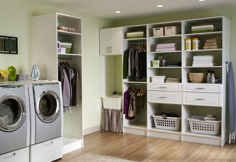 Master Suite Laundry Room