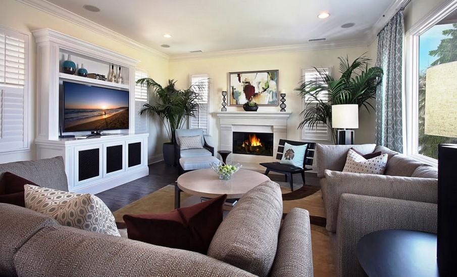 Modern fireplace ideas