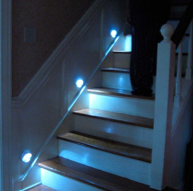 Lighting Basement Washroom Stairs: 15+ Stairway Lighting Ideas For Modern And Contemporary
