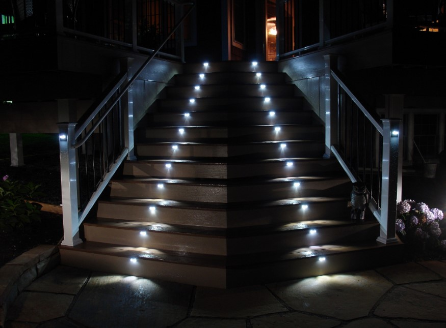 Outdoors Stair Lights
