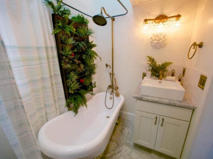 Outdoors in - Bathroom Ideas