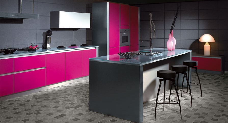 Romantic in Boldness Kitchen Cabinets