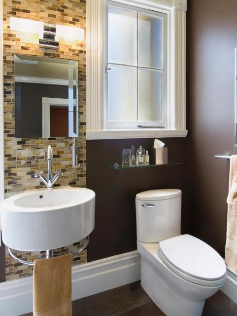 37 tiny house bathroom designs that will inspire you Redesigning small bathrooms