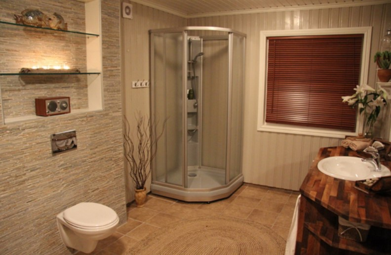 Basement bathroom ideas on budget low ceiling and for Basement bathroom ideas