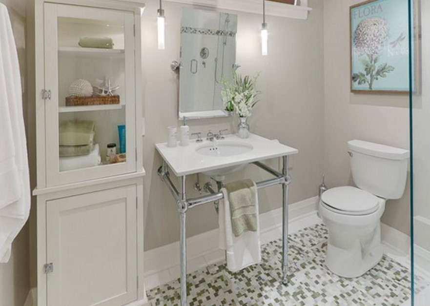 Basement bathroom ideas on budget low ceiling and for for Toronto bathroom design