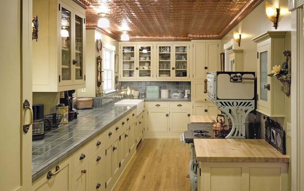 Vintage Style Kitchen Cabinet