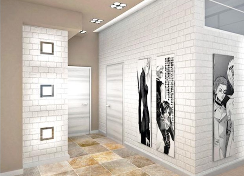 White Brick Wall - Creative and Artistic
