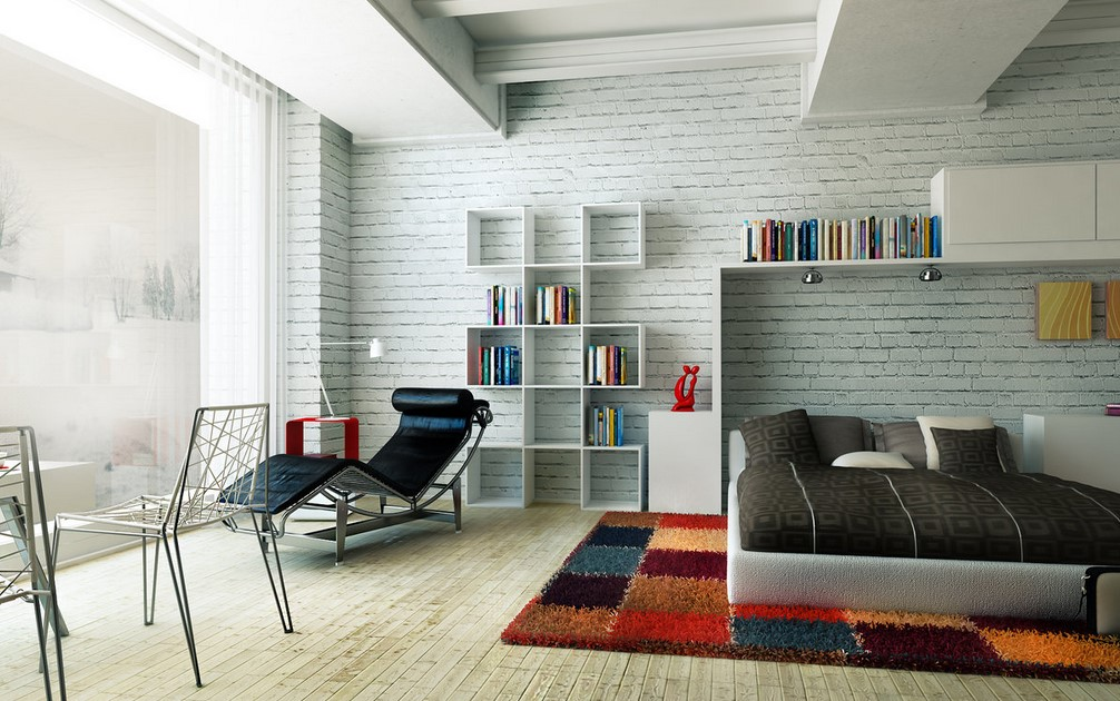 White Brick Walls Decorations