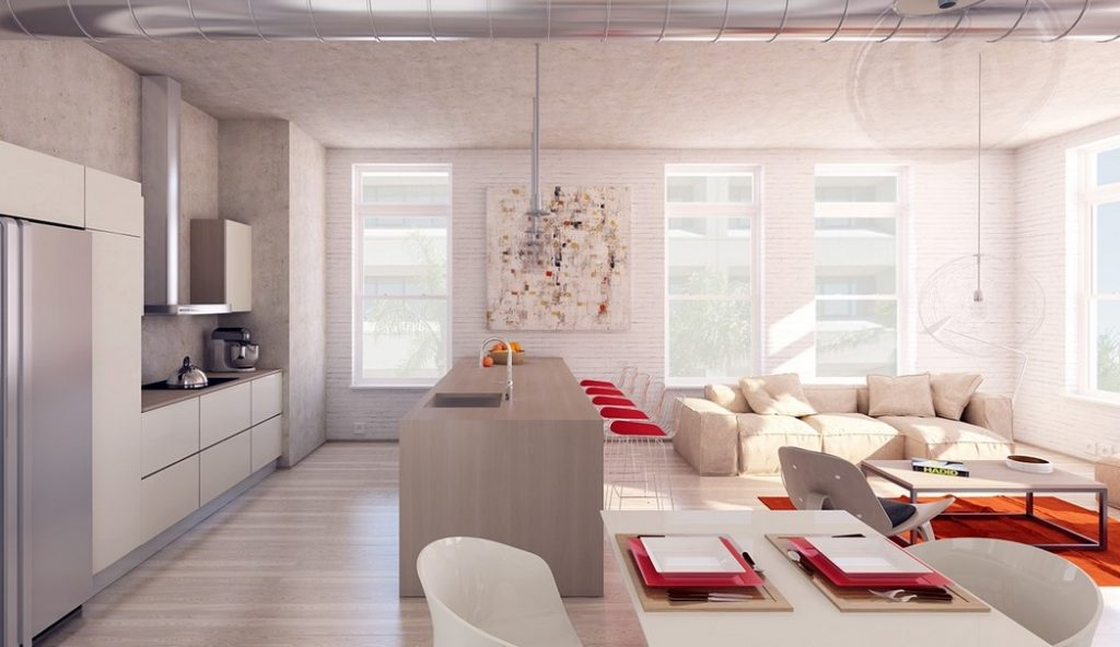 White Brick Walls To Add Interest, Texture And Warmth