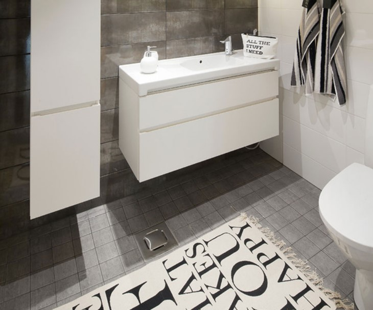 black and gray bathroom ideas